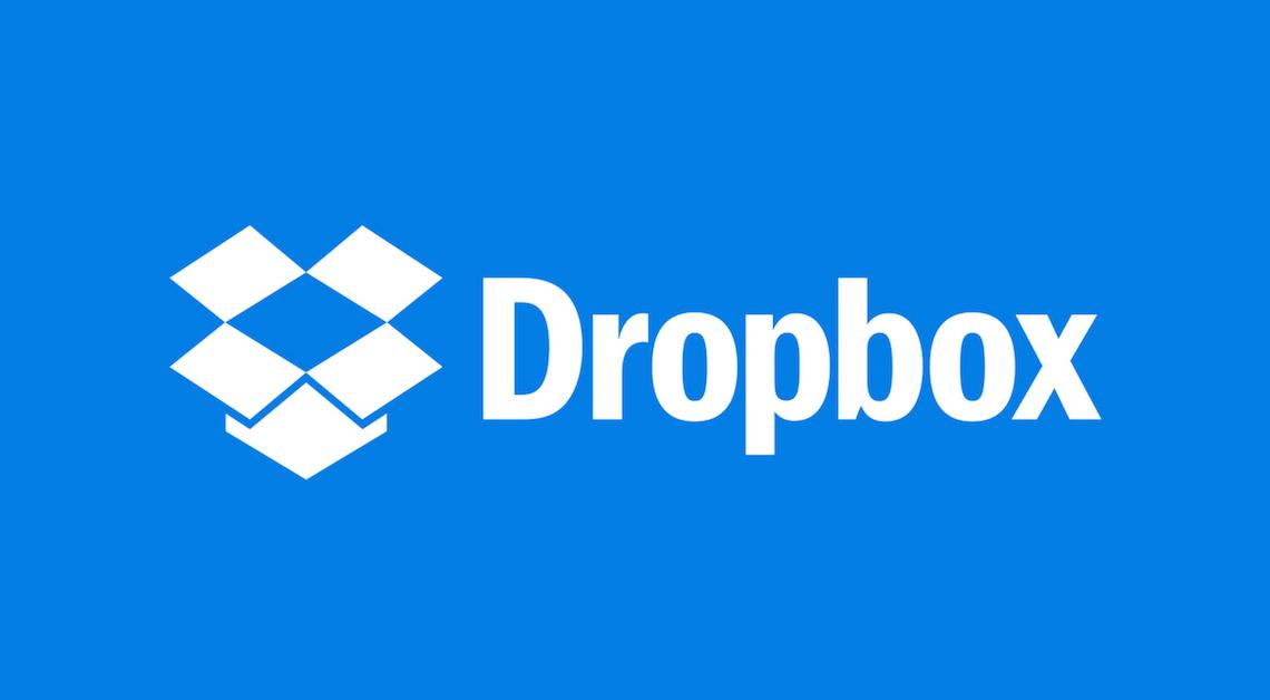 Dropbox logo for Bellingham Business News