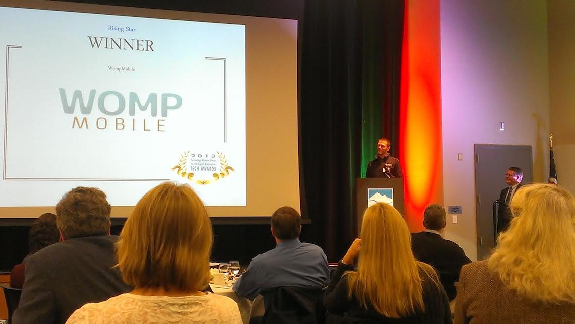 Local startup Womp Mobile wins Rising Star award