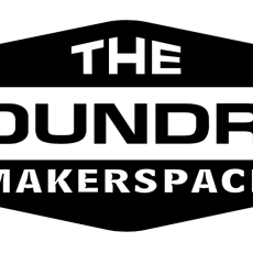 The Foundry Logo Black Background