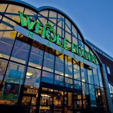 Whole Foods Location Glass Windows Twilight Sky